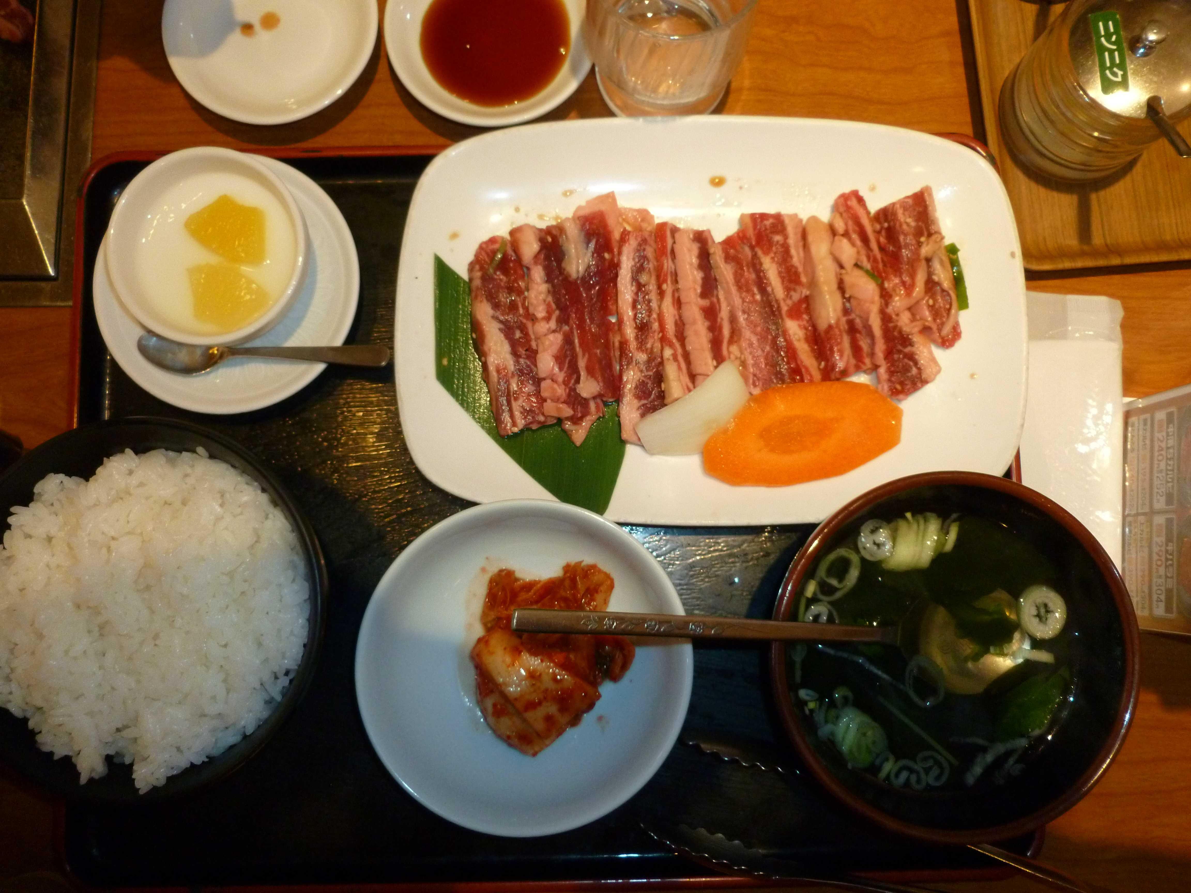Restaurant yakiniku hachioji
